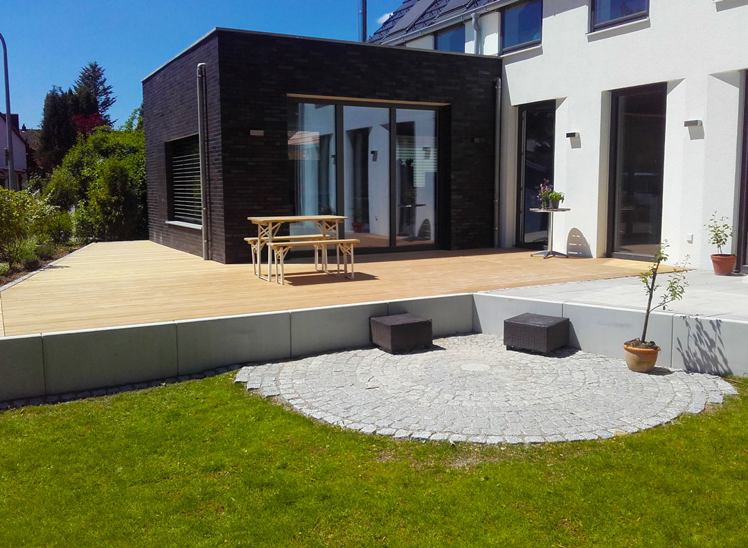 Terrassenbau vom Fachmann in München, Ebersberg und Poing ...